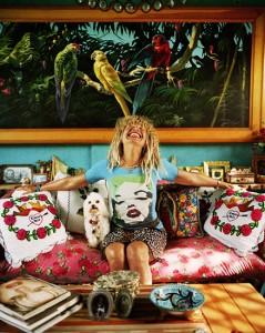 Boho Leo Home - Betsey Johnson + Free Horoscopes from Joanne Madeline Moore