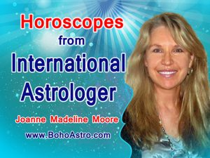 Contact Joanne - Daily, Weekly and Yearly Horoscopes from top international media astrologer Joanne Madeline Moore.