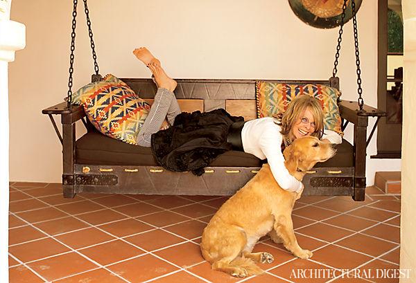 Diane Keaton Boho Home