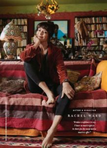 Rachel Ward's horoscope and bohemian home. From top media astrologer Joanne Madeline Moore.