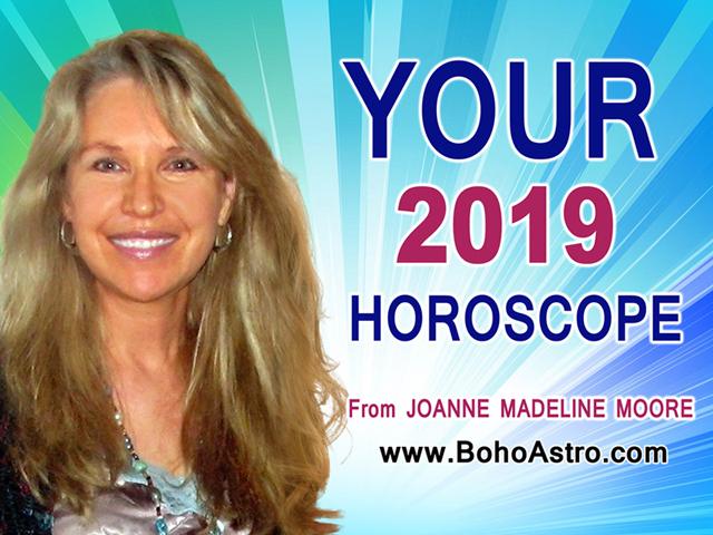 Best free horoscopes from media astrologer Joanne Madeline Moore