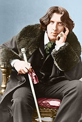 Oscar Wilde horoscope by top media astrologer Joanne Madeline Moore.